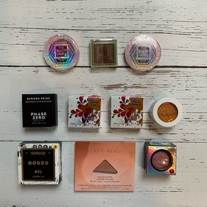Lot of 10 Single Shimmer Eyeshadows